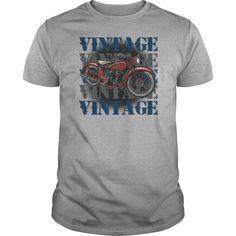 Vintage Motorcycle Bikers Classic Ride Tshirt