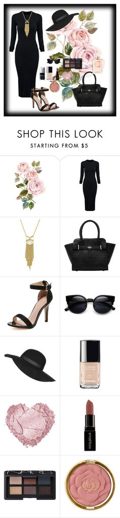 """""""Romwe 6"""" by amra-f ❤ liked on Polyvore featuring WithChic, Topshop, Chanel, Smashbox, NARS Cosmetics, Milani, Christian Dior, women's clothing, women and female"""