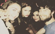 Maisie Williams & Daniel Radcliffe selfie wins Comic Con   EW.com Game of Thrones, Harry Potter, Doctor Who worlds collide :)