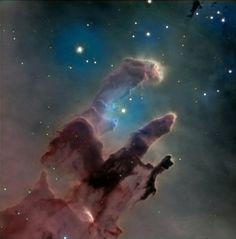 M16 Eagle nebula. By T Worton