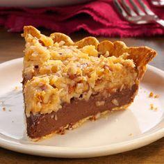 German Chocolate Pie - gotta make this for my mama!