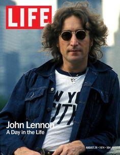 Life Magazine Cover John Lennon