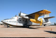 USAF Grumman HU-16A Albatross  51-0022 (cn 96) Part of the Pima Air & Space Museum collection.