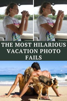 Let's take a look at the most hilarious vacation photo fails.