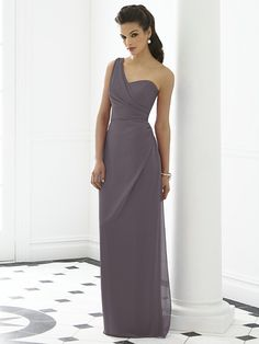 After Six Bridesmaid Dress 6646 - Stormy http://www.dessy.com/dresses/bridesmaid/6646/