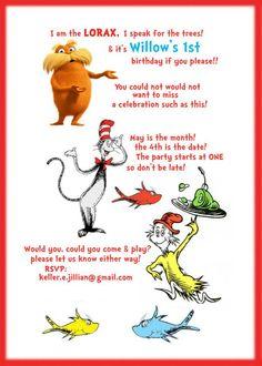 Dr. Seuss Birthday Party via Kara's Party Ideas   KarasPartyIdeas.com