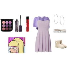 Pacifica Northwest by gilliebillie03 on Polyvore featuring TFNC, Michael Kors, UGG Australia, Witchery, MAC Cosmetics, tarte, Sexy Hair and Pacifica