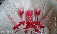 Декор предметов Свадьба Лепка Роспись Свадьбы бывают разные - золотые синие красные  Бусины Краска Пластика фото 1