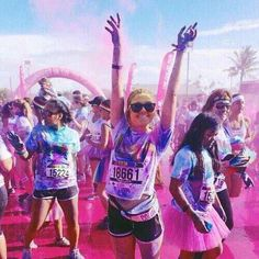 I hope to run a color run someday