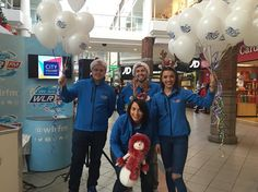We're getting into the Christmas Spirit here in @citysquare_waterford for the launch of their #DiscountEvening!  We have some amazing prizes up for grabs if you're around  #WLRFM #Waterford #Christmas