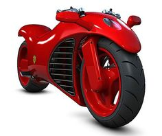 Ferrari V4 Superbike concept ...now this might make me get my motorcycle license