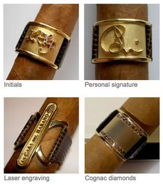 If It's Hip, It's Here (Archives): Sexin' Up That Stogie With Custom Bejeweled Cigar Bands & Gold Ashtrays Whisky, Cigars And Whiskey, Cuban Cigars, Cigar Shops, Cigar Art, Cigar Club, Cigar Lighters, Cigar Accessories, Cigar Room