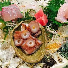 #おのころ五合 #港 #福岡  #fukuoka #japan  #刺身盛り合わせ #全部美味しかった  #さがり #美味しい  #foodie #instafood #instagood #instaphotos #肉 #salada #sapporo #tokyo #料理 #グルメ #福岡グルメ