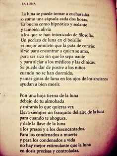 """La luna"", Jaime Sabines."