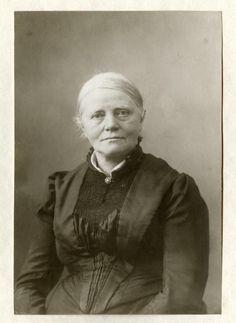 Sientje Mesdag-van Houten (1834-1909), kunstschilderes en echtgenote van H.W. Mesdag (1895).