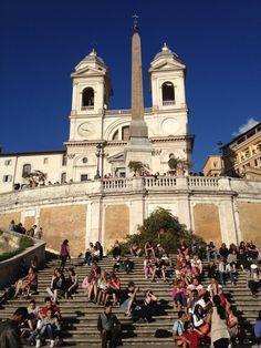 Spanish Steps - Rome, Italy | Sara Russell Interiors