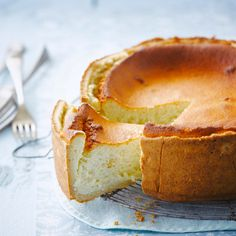 Voir la recette du gâteau au fromage blanc facile