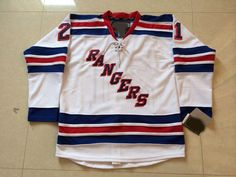 2015 New York Rangers Hockey Jerseys #21 Derek Stepan Jersey Royal Blue White Cream Winter Derek Stepan