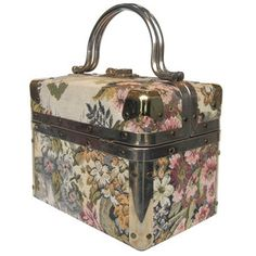 Delill Tapestry Trunk Bag Floral, 250€, now featured on Fab.