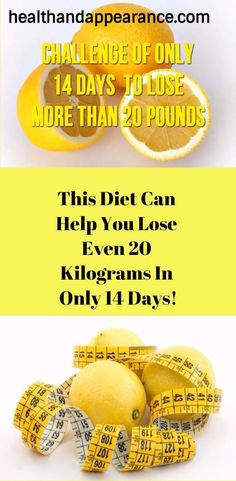 THIS DIET CAN HELP YOU LOSE EVEN 20 KILOGRAMS IN ONLY 14 DAYS!