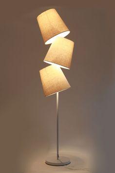 Lampadaire design naturel BAYA : Salle à manger