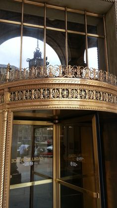 The revolving door of #CadillacPlace!