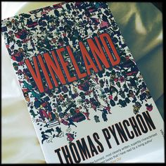 Here's my first #summerread I'm a big fan of #ThomasPynchon - he's mysterious - always hinting at a bigger story happening away from the focus like #DavidLynch - drily funny and creates unforgettable characters. #books #reading