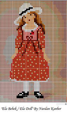 """Ela"" Bebek / Ela Doll by Nurdan Kanber"
