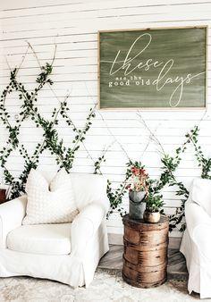 Patio Wall Decor, Diy Wall Decor, Wall Decorations, Outside Wall Decor, Indoor Ivy, Indoor Garden, Boho Diy, Boho Decor, Indoor Plant Wall