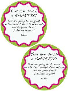testing motivation freebie