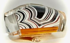 Button ~ Fordite, Moveable (Opal Chips) Glass Base with Faceted Glass Pieces Laminated Together - Made By KPHoppe - Large by KPHoppe on Etsy Thing 1, Faceted Glass, Car Manufacturers, Spray Painting, Bright Colors, Opal, Art Ideas, Chips, Carving