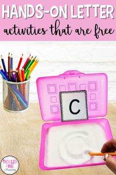 Activities and Ideas for Letter Recognition