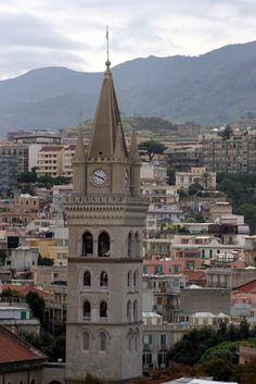 City of Messina  Sicily   A very large city a lot to see & very interesting history. We spend all day walking & touring.