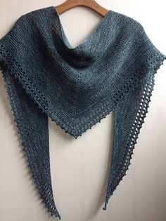simple set fancy shawl pattern