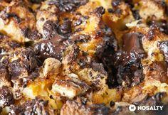 Rakott kalács csokival | NOSALTY French Toast, Food And Drink, Beef, Snacks, Cookies, Chicken, Breakfast, Recipes, Meat