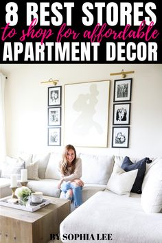 love these stores for cheap apartment decor! seriously so affordable but still looks expensive College Apartment Bathroom, First Apartment Tips, First Apartment Essentials, Cheap Apartment, Apartment Checklist, Apartment Kitchen, Apartment Living, Apartment Ideas, Living Room