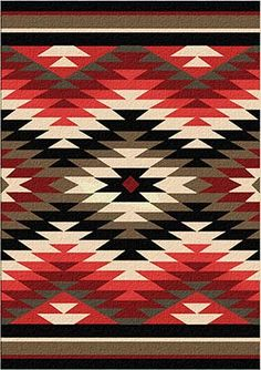 The Santa Fe Orange Starburst Area Rug will add chic desert charm to your Southwestern ranch decor with a chevron design comprised of rustic color. Native American Rugs, Native American Patterns, Native American Design, Orange Rugs, Red Rugs, Southwestern Quilts, Design Patio, Elements Of Color, Navajo Rugs