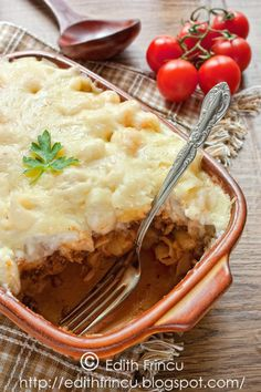Paste, Quiche, Mashed Potatoes, Food And Drink, Cooking Recipes, Ethnic Recipes, Zucchini, Fine Dining, Whipped Potatoes