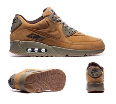 Nike Air Max 90 Winter 'Flax Pack' Trainer Bronze Baroque Brown S92263