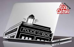 Policebox Macbook Decal Sticker 0138mac by FunDecalFactory on Etsy