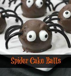 Spider Cake Balls Recipe - From Val's Kitchen