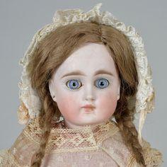 All Original Sonneberg Child 13 Inches my she looks shocked
