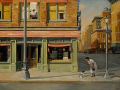 Sally Storch: The Artist - Work Jack Vettriano, City Sketch, Art Students League, Henri Matisse, Urban Landscape, Art Plastique, American Artists, American Realism, Contemporary Paintings