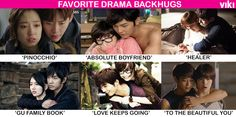A drama just isn't complete w/o a good ol' #backhug. Which one tops your list?