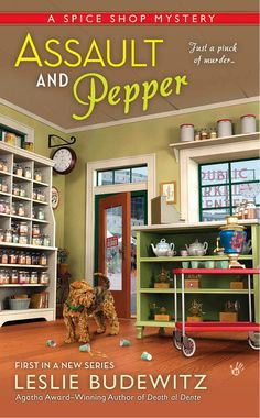 Killer Characters: Wishing you a Spicy New Year! @LeslieBudewitz #cozy #mystery #giveaway