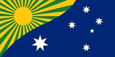 New Australian Flag proposal Australian Flags, Flag Art, Flags Of The World, Coat Of Arms, Arts And Crafts, Illustration, Poster, Flag Ideas, Banners