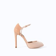 Image 1 of HIGH HEEL SANDALS WITH ANKLE STRAP AND PLATFORM from Zara
