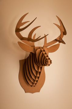 Cardboard mounted animal trophies. All the rewards of hunting with none of the being cold or shooting things.