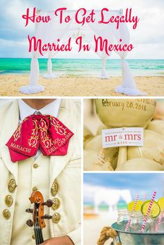 Civil ceremony or symbolic ceremony for your destination wedding in Mexico? Here's what you need to know. (Wedding Photography by Fun In The Sun Weddings) http://www.funinthesunweddings.com/advice-blog/how-to-get-legally-married-in-mexico