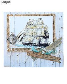 7-teiliges LaBlanche Stempel-Set Maritim - hier online